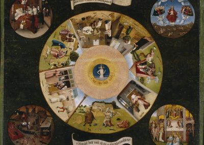 Jheronimus Bosch - Table of the Mortal Sins, Museo del Prado Madrid 1