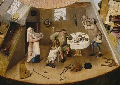 Jheronimus Bosch - Table of the Mortal Sins, Museo del Prado Madrid 2
