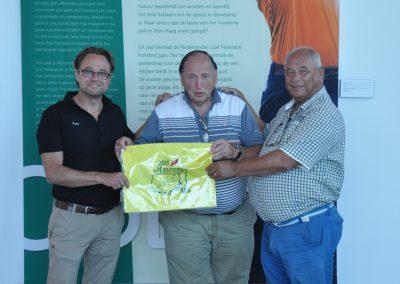Uitreiking vlag Masters 2015