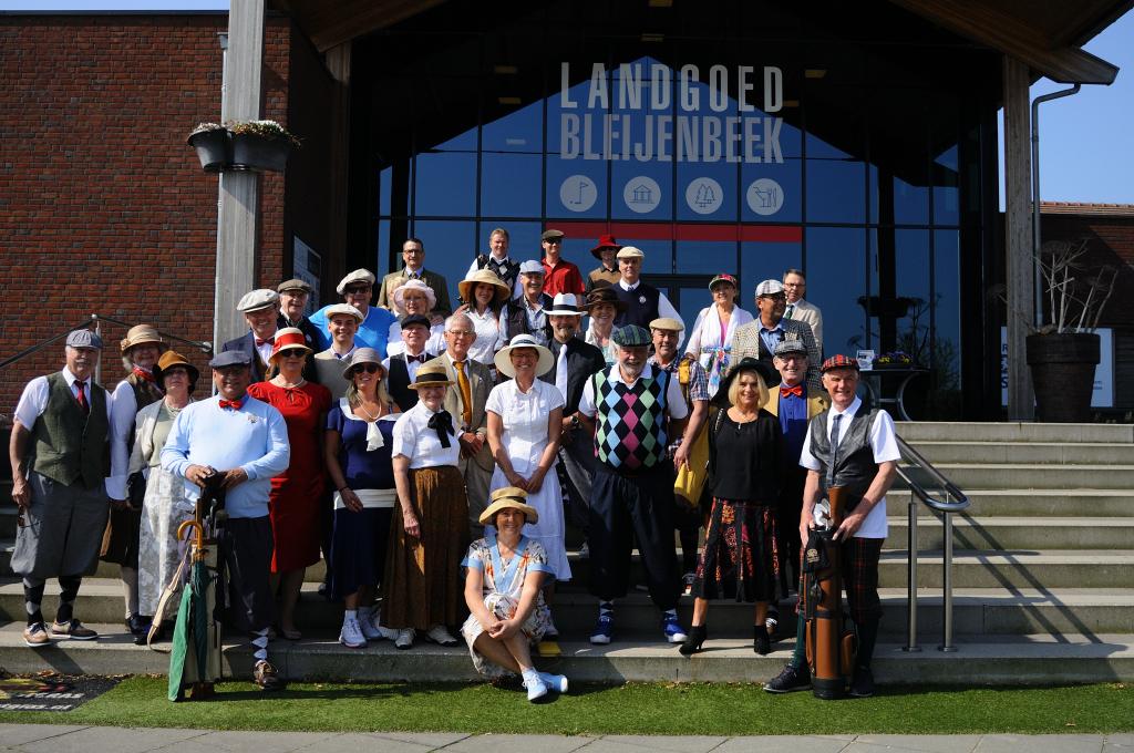 Participants Dutch Golf Museum Open Hickory Tournament 2018