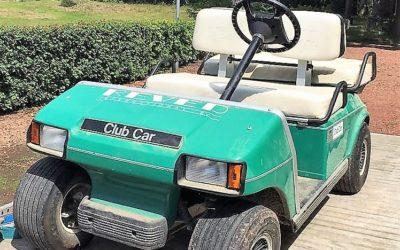 Golfkar van Mister Golf nu in golfmuseum