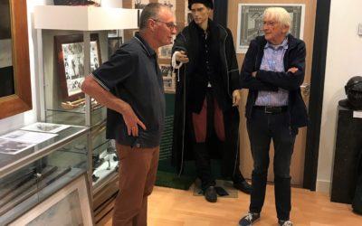 Do Smit vereert golfmuseum met bezoek